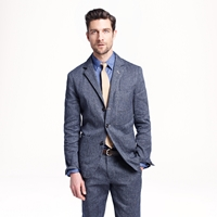 J.Crew Wallace And Barnes Worker Suit Jacket In Japanese Denim