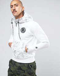 Aape By A Bathing Ape Hoodie White