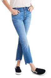 Madewell Women's Cali Demi Boot Jeans