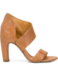 Officine Creative Chunky Heel Sandals Brown