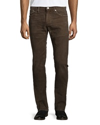 Citizens Of Humanity Holden Slim Corduroy Pants Russet Brown
