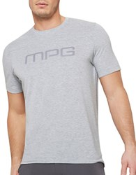 Mpg Salton Slim Fit Logo Tee Grey