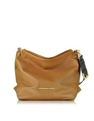 Francesco Biasia Jasmine Leather Hobo Bag Cognac