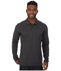 Arc'teryx Captive Long Sleeve Polo Black Men's Long Sleeve Pullover