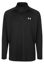 Under Armour Tech Long Sleeved Top Black White