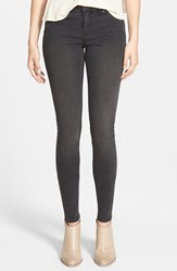 Junior Women's Volcom 'Liberator' Denim Leggings