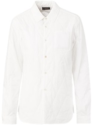 Undercover Quilted Shirt White