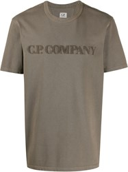 C.P. Company Cp Logo Embroidered T Shirt 60