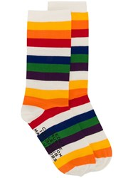 Marc Jacobs Rainbow Socks Neutrals