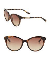 Calvin Klein 53Mm Cat Eye Sunglasses Brown