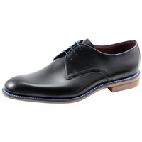 Loake Drake Derby Shoes Black