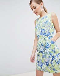 Closet London Floral Pencil Dress Multi