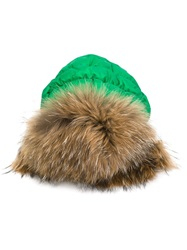 Liska Padded Trooper Hat Green