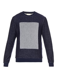 Oliver Spencer Peru Square Panel Sweatshirt