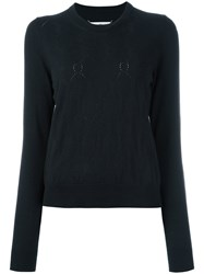 Maison Martin Margiela Pointelle Jumper Black