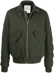 Zadig And Voltaire Sleeve Pocket Bomber Jacket 60