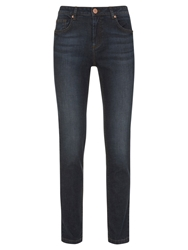 Mint Velvet Houston Skinny Jeans Blue