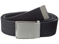 Fjall Raven Canvas Belt Dark Grey Belts Gray
