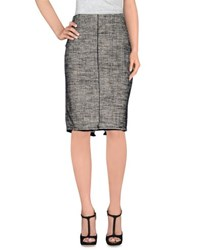 Hache Skirts Knee Length Skirts Women
