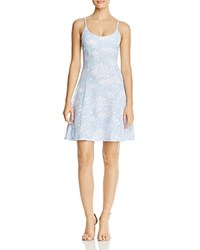 Aqua Printed Cami Dress 100 Exclusive Light Blue White