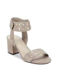 424 Fifth Harrow Studded Leather Open Toe Sandals
