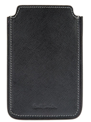 Paul Smith Textured Leather Iphone Case Black