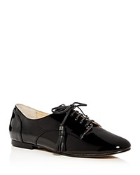 Botkier Caia Patent Leather Oxfords Black