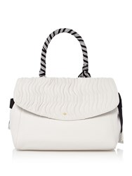 Nica Key West Grab Tote White