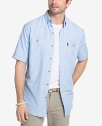G.H. Bass And Co. Men's Explorer Uv Protected Fishing Shirt Chambray