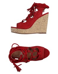 Apepazza Sandals Red