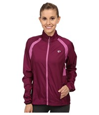 Pearl Izumi W Elite Barrier Cycling Jacket Dark Purple Women's Workout