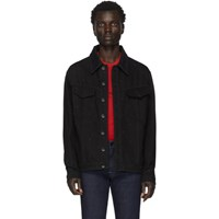 Fendi Black Denim Ff Jacket