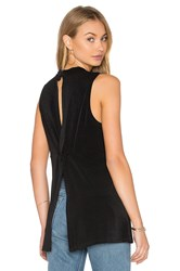 Bcbgeneration Twist Back Tank Black