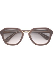 Prada 'Cina Ma' Sunglasses Brown