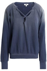 Lna Cotton Terry Sweatshirt Storm Blue