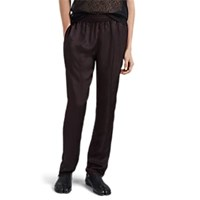 Helmut Lang Silky Twill Lounge Trousers Black