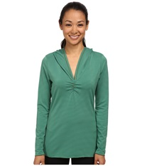 Prana Perry Stripe Pullover Dynasty Green Women's Long Sleeve Pullover