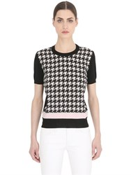 Salvatore Ferragamo Wool And Silk Knit Top