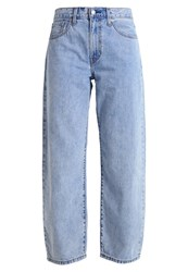 Levi's Big Baggy Relaxed Fit Jeans Real World Stone Blue Denim