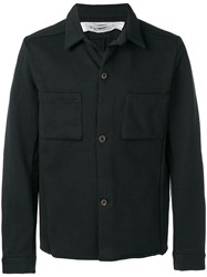 Individual Sentiments Woven Shirt Jacket Black