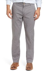 Vineyard Vines Men's 'Breaker' Slim Fit Cotton Twill Pants Graphite
