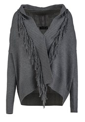 Religion Escape Cardigan Grey Marl