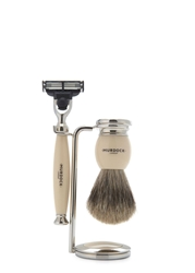 Murdock Turner White Shaving Set