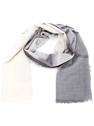 Lost And Found Radiography Print Scarf White