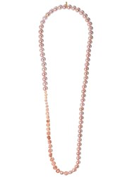 Tasaki 18Kt Yellow Gold Sliced Necklace 60