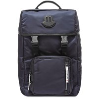 Moncler Chute Patch Logo Backpack Blue