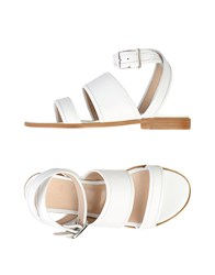 Couture Sandals White