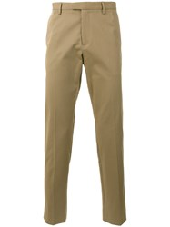 Gucci Straight Leg Chinos Nude Neutrals