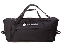 Pacsafe Duffelsafe At80 Anti Theft Adventure Duffel Black Duffel Bags