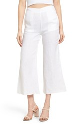 Faithfull The Brand Women's Tomas Crop Linen Pants